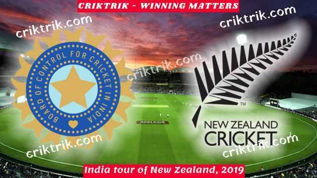 NZ vs Ind today match prediction - criktrik.com