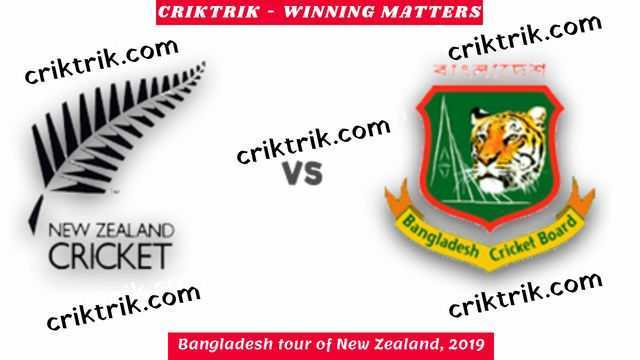 Bangladesh tour of New Zealand, 2019
