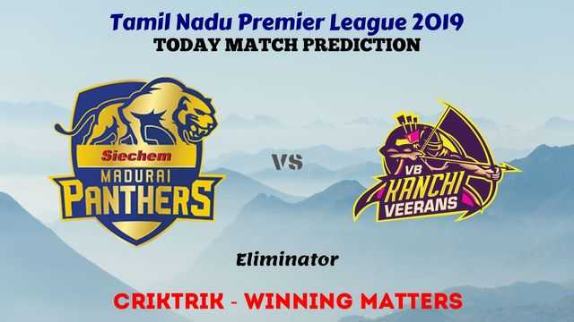 mp vs vkv eliminator - TNPL 2019 - MP vs VKV, Eliminator Today Match Prediction Tips