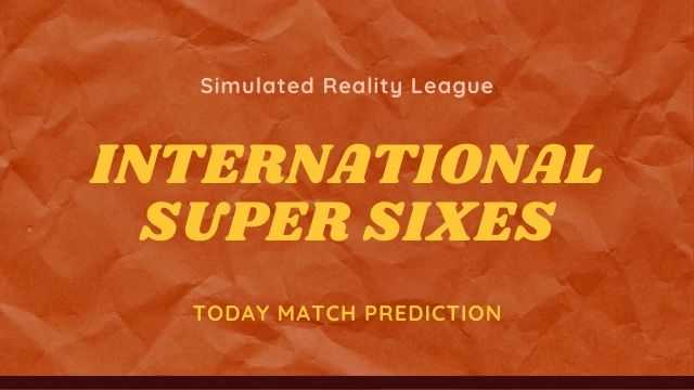 International Super Sixes SRL - India SRL vs England SRL Today Match Prediction - 5/6/2020
