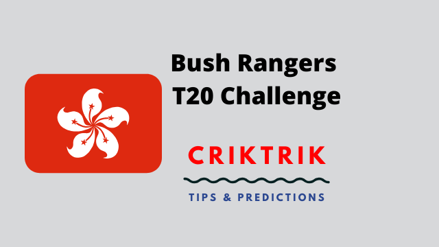 Bush Rangers T20 Challenge - C.W Fighters vs Geo Fox Today Match Prediction - 5/6/2020